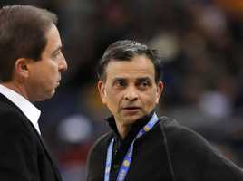 "Another 'whale'March 21, 2013 -- Warriors minority owner, Vivek Ranadive, emerges as the third ""whale"" to help save the Kings. The financing plan for the arena is delayed."