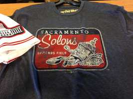 Sacramento Solons gear will be sold in the team store.