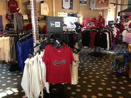 Hats, shirts even pajamas await River Cats fans at the store.