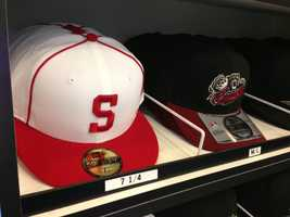 Fans who remember watching the Sacramento Solons can buy a hat and jersey.