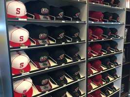 Hats come in a variety of fitted sizes.