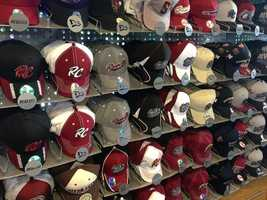 Hats come in a variety of fitted sizes and styles.