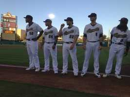The River Cats opened the 2013 season at Raley Field on Thursday.