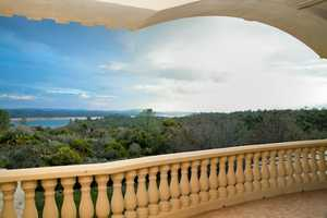 From the balcony of the home, guests and residents can get a clear view of Folsom Lake.