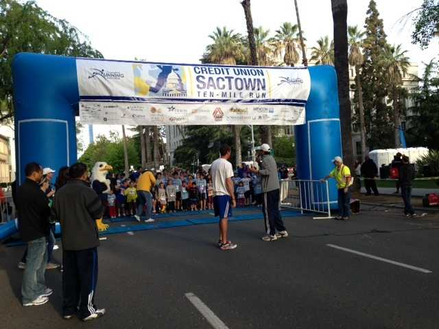Hundreds flooded the streets of Sacramento for the annual SACTOWN run Sunday. Among them were seasoned runners -- including an Olympian -- and those a bit newer to the sport.