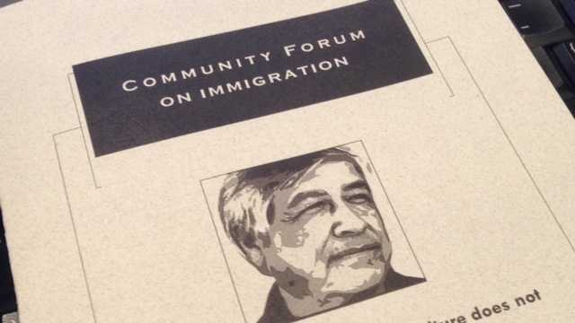 A community forum on immigration was held Friday night at CSUS (April 12, 2013).