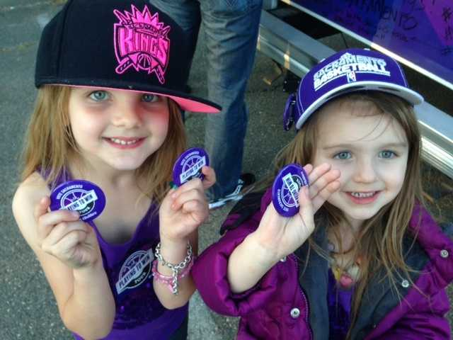 Fans of all ages flocked to Sleep Train Arena on Wednesday night, for what might be the Sacramento Kings' final home game in California's capital city (April 17, 2013).