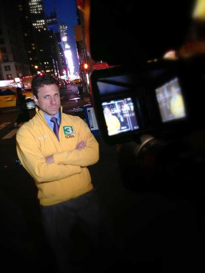 KCRA 3 reporter David Bienick and photojournalist Robbie Beasom are reporting from New York City, the site of the NBA's Board of Governors meeting (April 2013).