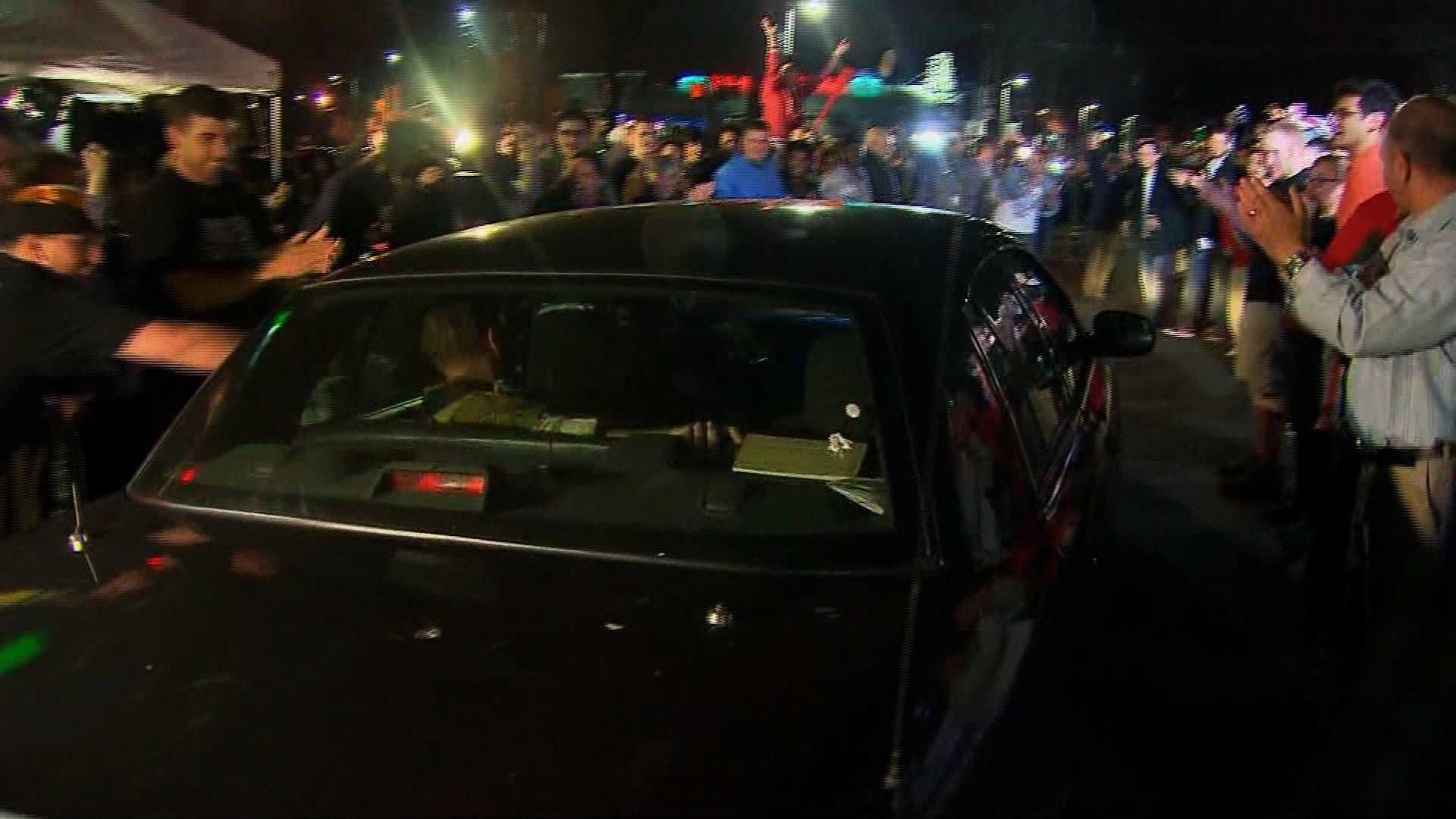 Boston celebrates after bombing suspect captured 3