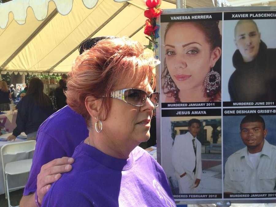 Many families of crime victims urge lawmakers and the state to repeal the prison realignment plan.