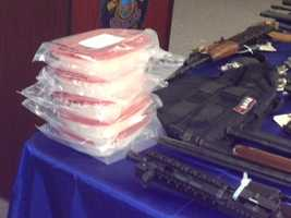 """A joint-agency operation called """"Operation Gideon"""" netted 55 arrests and the seizure of dozens of weapons."""