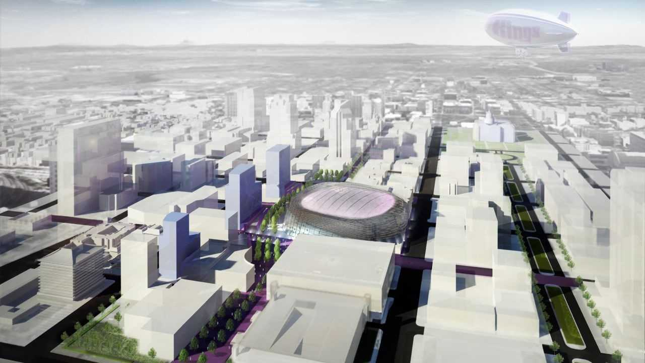 As Sacramento waits for a decision from the NBA on the fate of the Kings, new renderings of the arena emerged Wednesday.