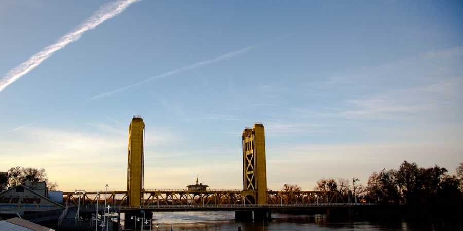The most recognizablebridge in downtown Sacramento might be the Tower Bridge. But before it was dedicated in 1935, another bridge connected the cities known now as Sacramento and West Sacramento.