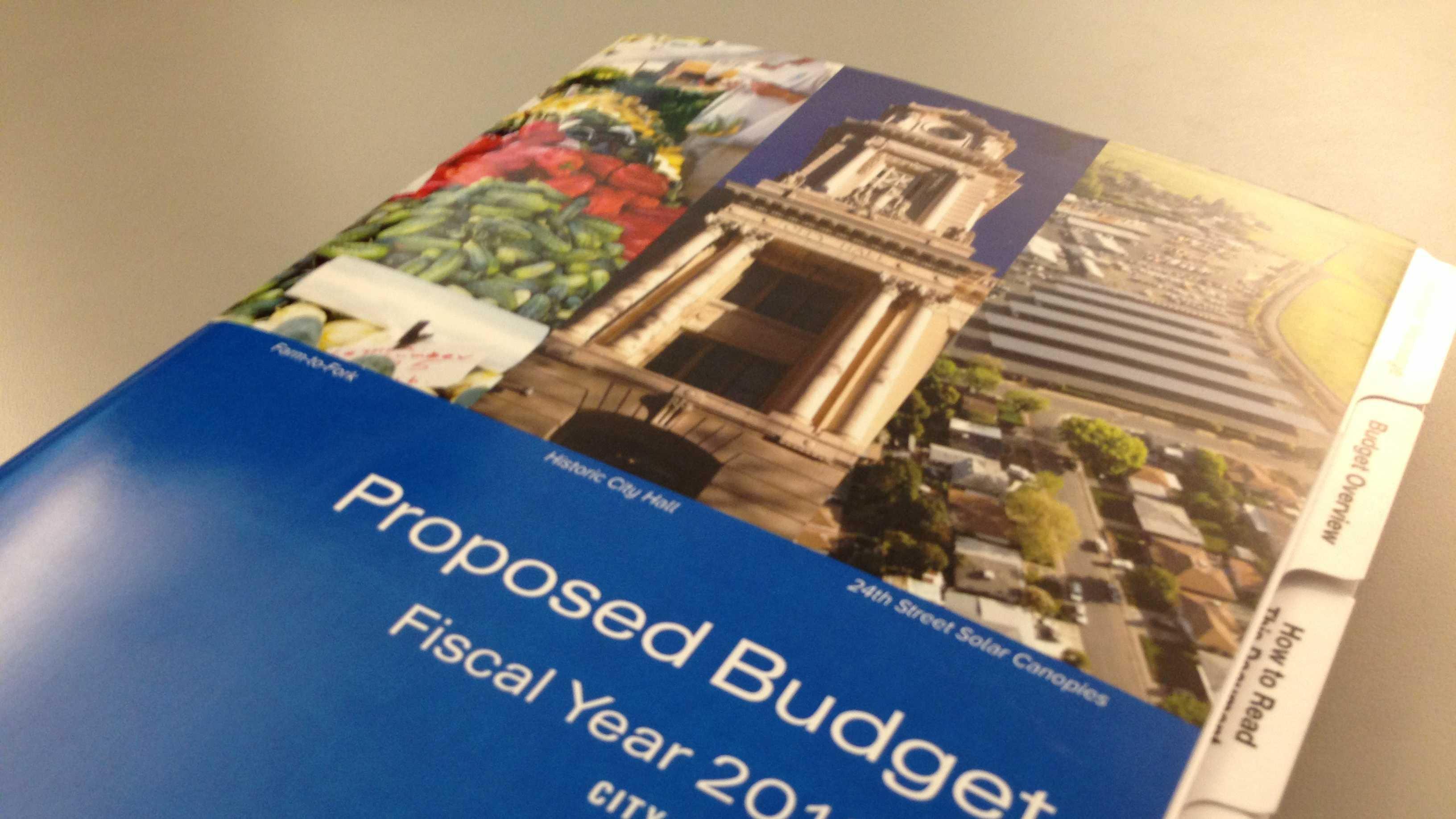 Sacramento City Budget
