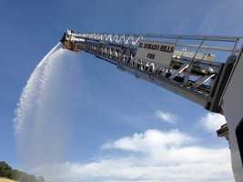 A new ladder truck is expected to give El Dorado Hills firefighters better reach in controlling large structure fires.