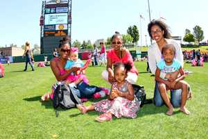 Running the bases, playing catch, an obstacle course and River Cats mascot Dinger were all on deck to entertain parents and kids at the annual Mommy And Me Day at Raley Field. Click here to upload your River Cats fan photos to u local!