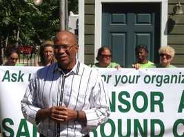 Councilman Allen Warren endorses Safe Ground efforts (May 1, 2013).