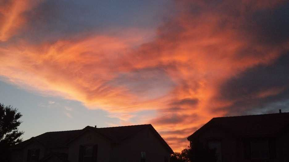 A shot of the sunrise Tuesday in the Mather area. Click here to upload your weather photos.