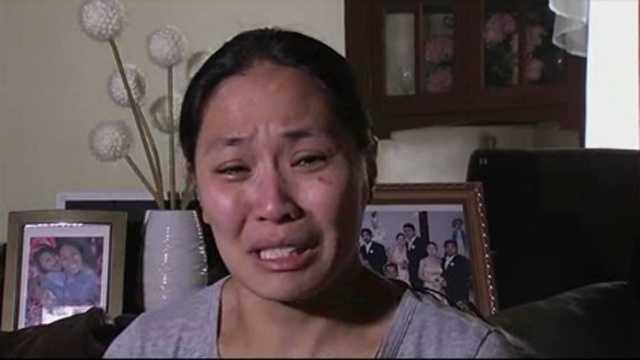 Woman in limo fire speaks