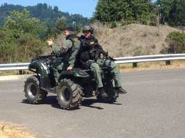 Wednesday night, police received calls that Miller's vehicle may have been spotted in both Petrolia and Honeydew -- towns near the California coastline (May 9, 2013).