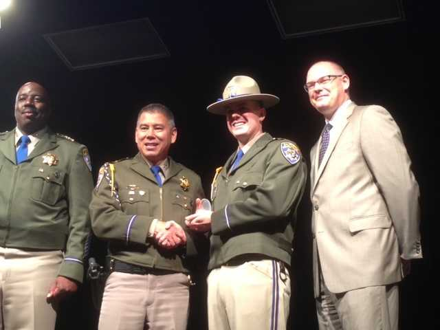 The cadets went through 27 weeks of training to become a California Highway Patrol officer.
