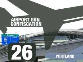 Airport: Portland International AirportTotal guns: 26Percentage loaded: 81%