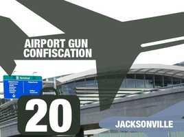 Airport: Jacksonville International AirportTotal guns: 20Percentage loaded: 80%