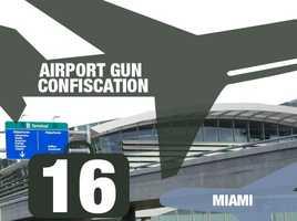 Airport: Miami International AirportTotal guns: 16Percentage loaded: 81%
