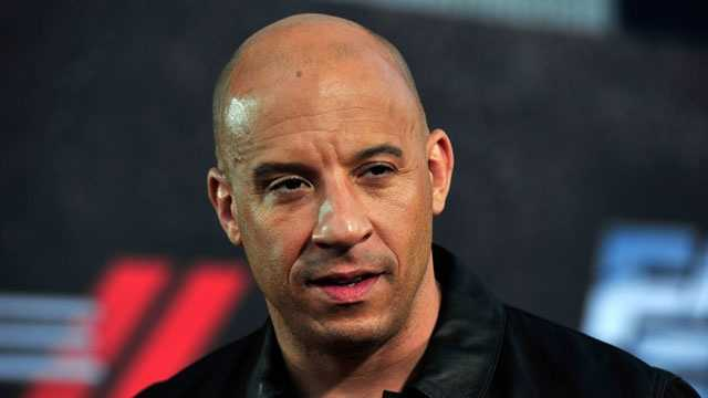 Bald celebrities - Vin Diesel
