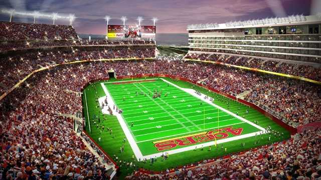 Levi's Stadium, San Francisco 49ers, Santa Clara