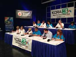 KCRA 3 is hosting a disaster relief drive on Wednesday from 6 a.m. to 8 p.m. to raise funds that will benefit those in areas impacted by the Oklahoma tornado. People may donate by calling 1-800-513-3333, by texting the wordREDCROSSto 90999 to make a $10 donation, or by visiting redcross.org.