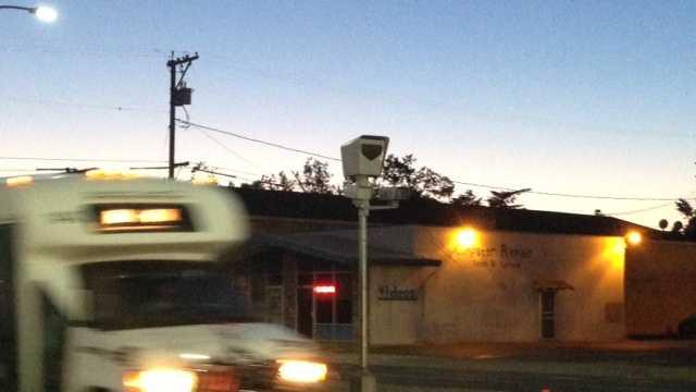 Extra traffic cameras