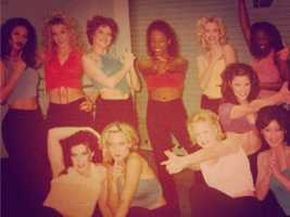 The Royal Court Dancers took on a dual role and became Slamson's Angels.