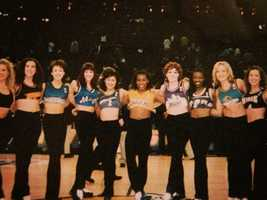 The Royal Court Dancers at the NBA All-Star game in the 2000s.