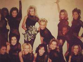 KCRA Anchor Lisa Gonzales was also once a Royal Court Dancer. Here the team poses for a quick photo.