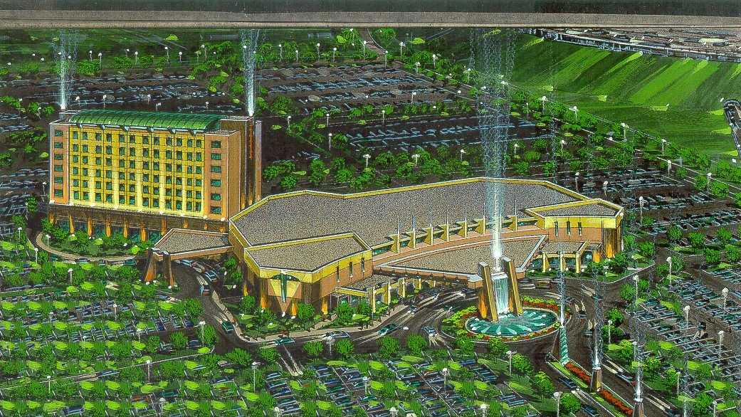 Rendering of Enterprise Rancheria Casino and Hotel Rendering