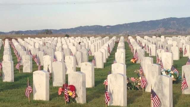 Sacramento Valley National Cemetery in Dixon (May 27, 2013)