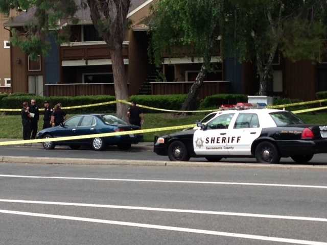 Two people were shot to death at Oakhollow Apartments, the Sacramento County Sheriff's Department said Monday (May 27, 2013).