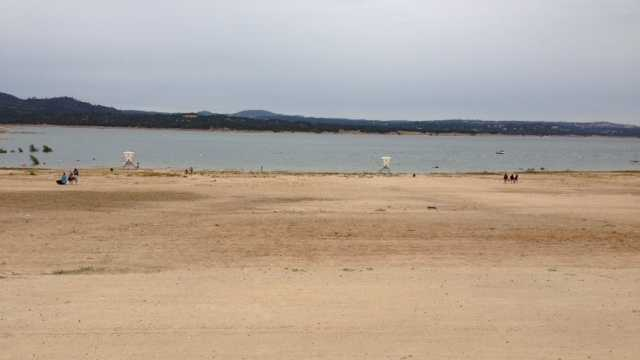 Folsom Lake on Memorial Day (May 27, 2013)