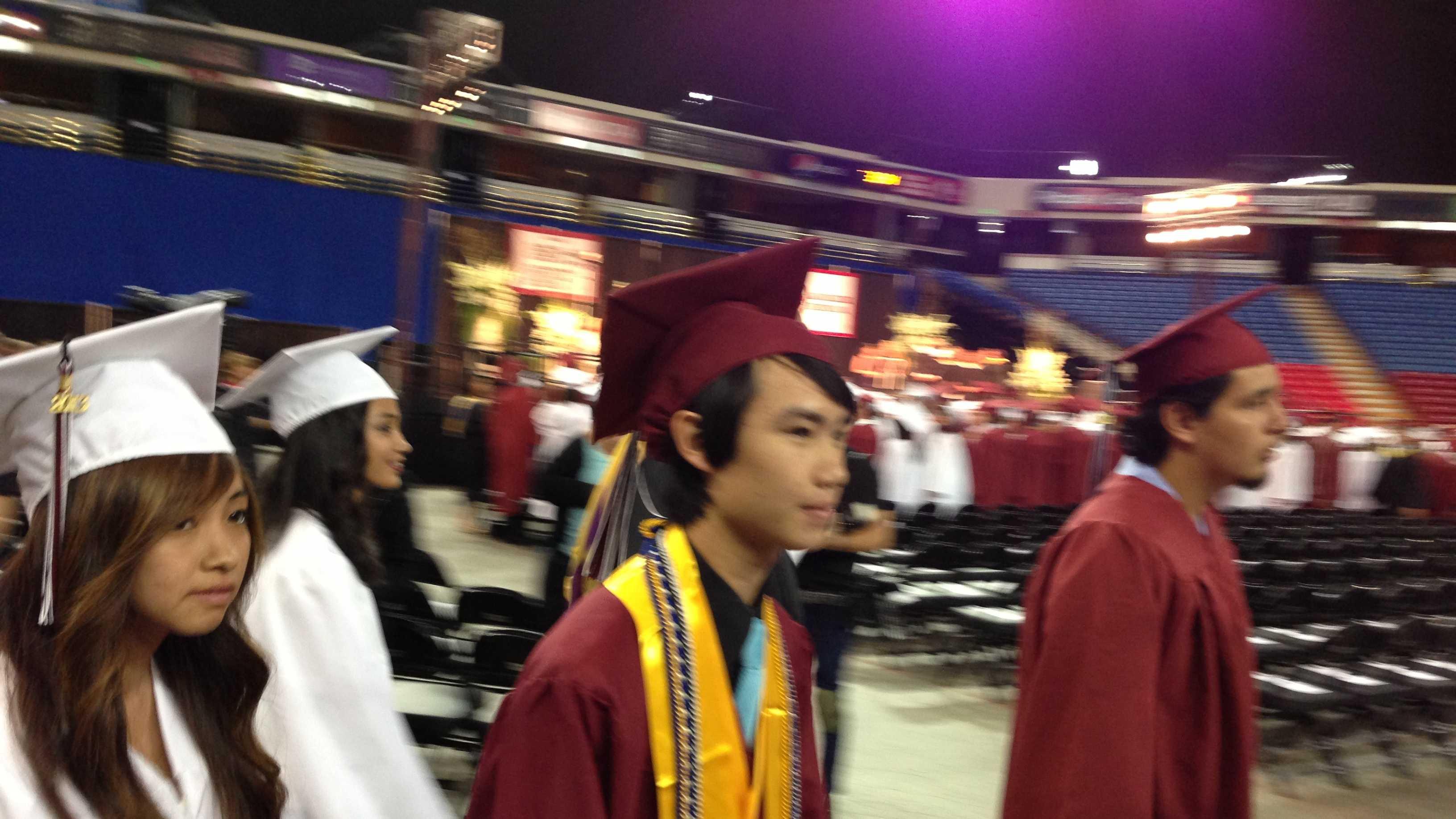 Elk Grove Laguna Creek valedictorian Lloyd Chen (May 30, 2013)