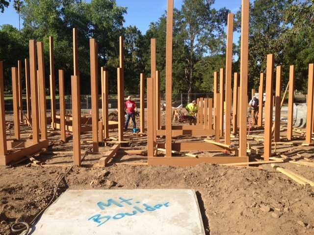 Thousands of volunteers are expected to gather Monday to rebuild the play structure at McKinley Park.
