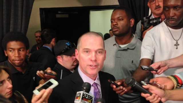 Sacramento Kings coach Mike Malone (June 3, 2013)