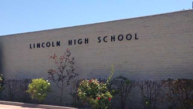 Vandalism at Lincoln HS
