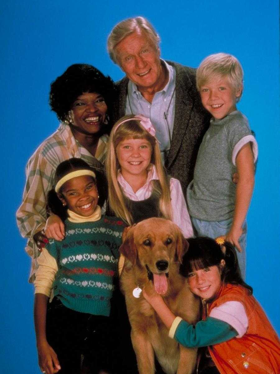 """Henry Warnimont (George Gaynes) from """"Punky Brewster"""""""
