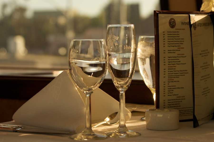 5. The two most popular varieties of wine in Napa Valley are Cabernet Sauvignon and Chardonnay.
