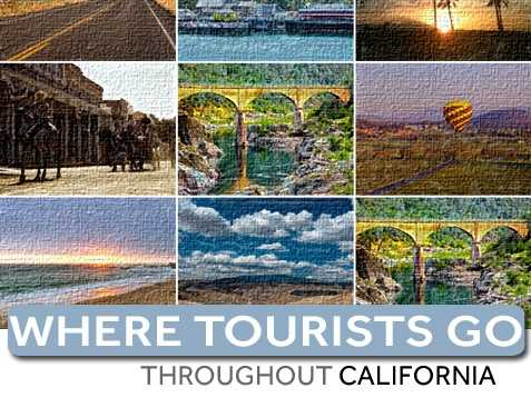 How much tourism does each California county attract? In this slideshow, see how much visitor money is raised in each county annually throughout California.