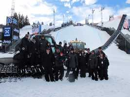 Gunnarson and SPT build courses all across the country, including everything at the Winter X Games.