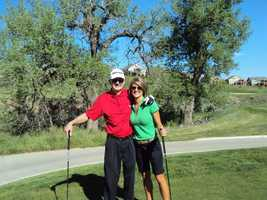 6. I've always wanted to be a good golfer, like my dad. I've picked up some pointers over the years, and golfing with him is like playing with a professional. Some day I'll get the swing of it!
