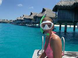 10. I love to travel and experience new things. My favorite spot so far? Bora Bora! The LONG travel time was worth every minute. We stayed for 10 days on our honeymoon last September.
