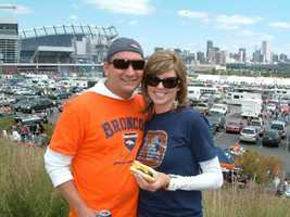 20. I'm a huge Denver Broncos fan. It's the team I grew up watching. I'm an Elway kid! I love going to the games, even in the dead of winter. I will say, I've made the 49ers my second team since moving here, and I can't wait for the new stadium to open.